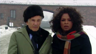 Oprah Visits Auschwitz with Nobel Laureate and Holocaust Survivor Elie Wiesel