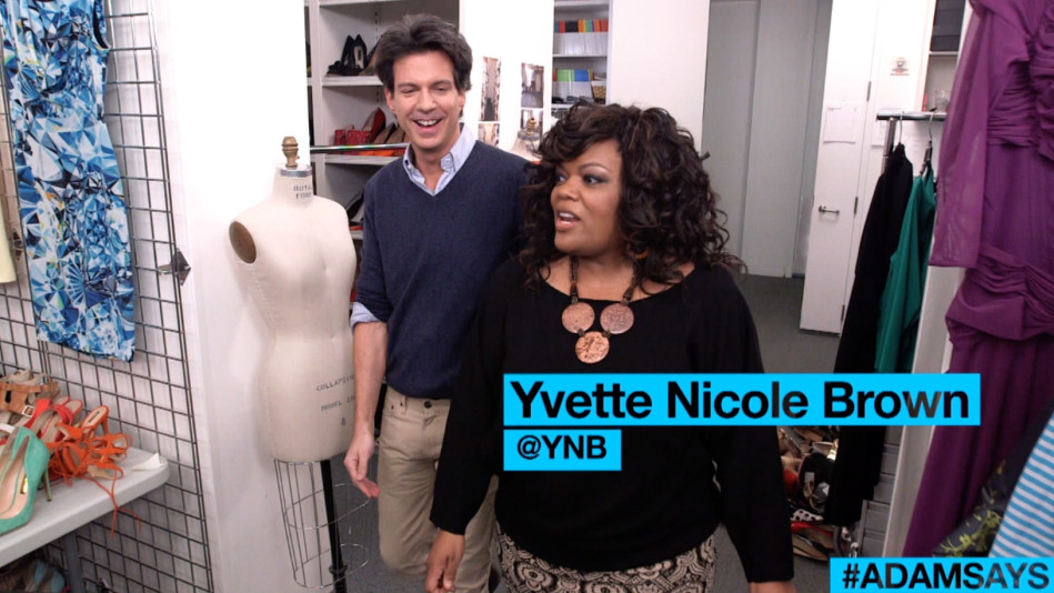 Yvette Nicole Brown Style - Uniform Dressing