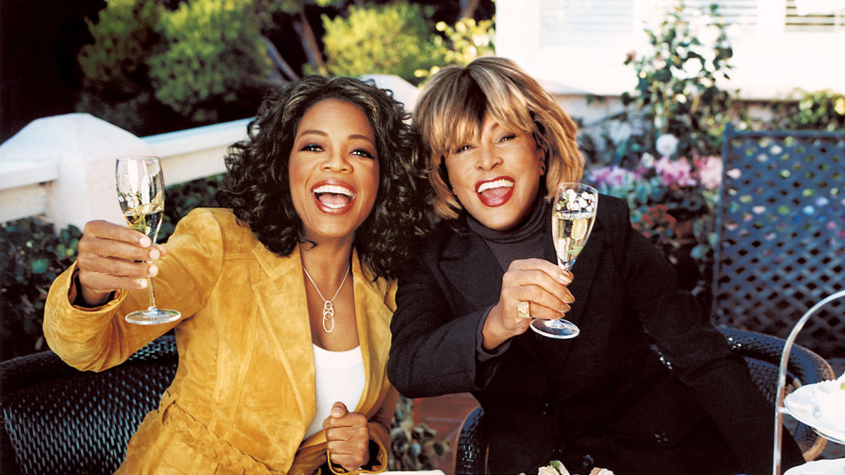 Oprah and Tina Turner