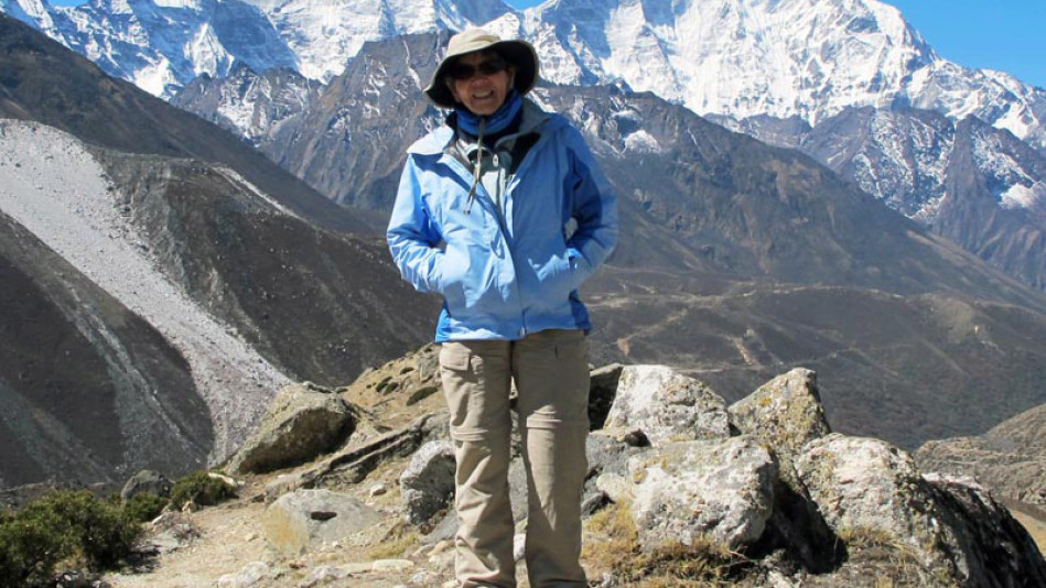 The Woman Who Climbed Mount Everest at Age 84
