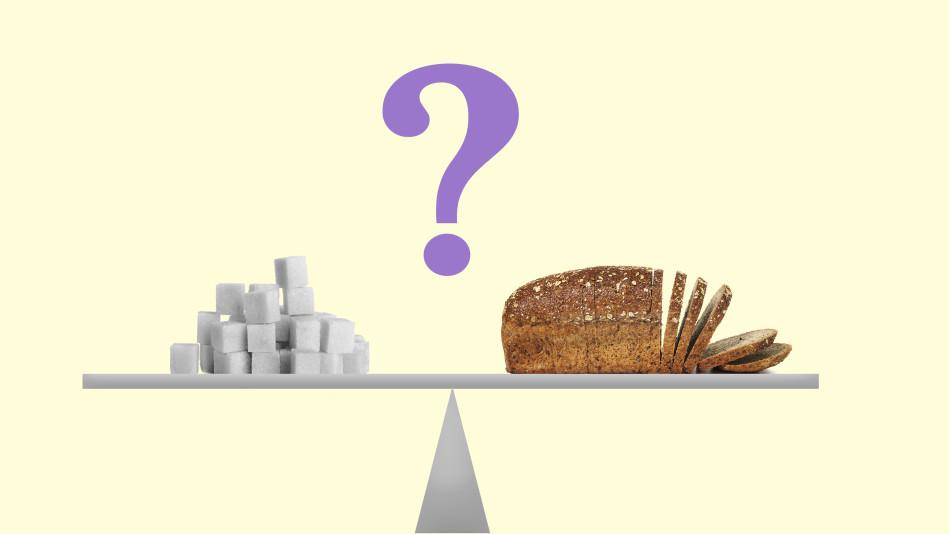 low carb vs low sugar