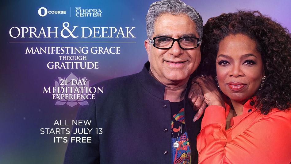 Banner for Oprah & Deepak's Manifesting Grace Through Gratit