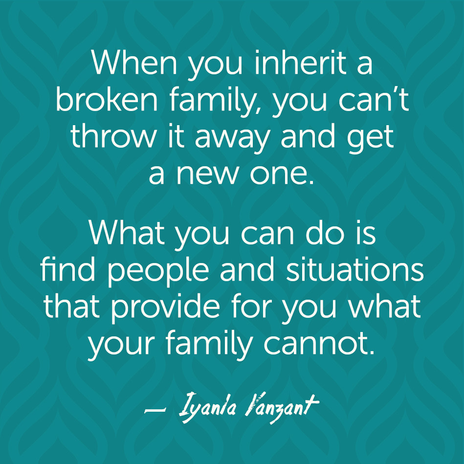 Iyanla Vanzant Quotes On Family