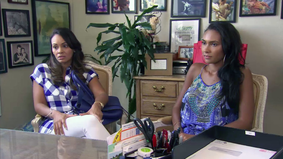 Should Shaniece Move Overseas Evelyn Weighs In Video