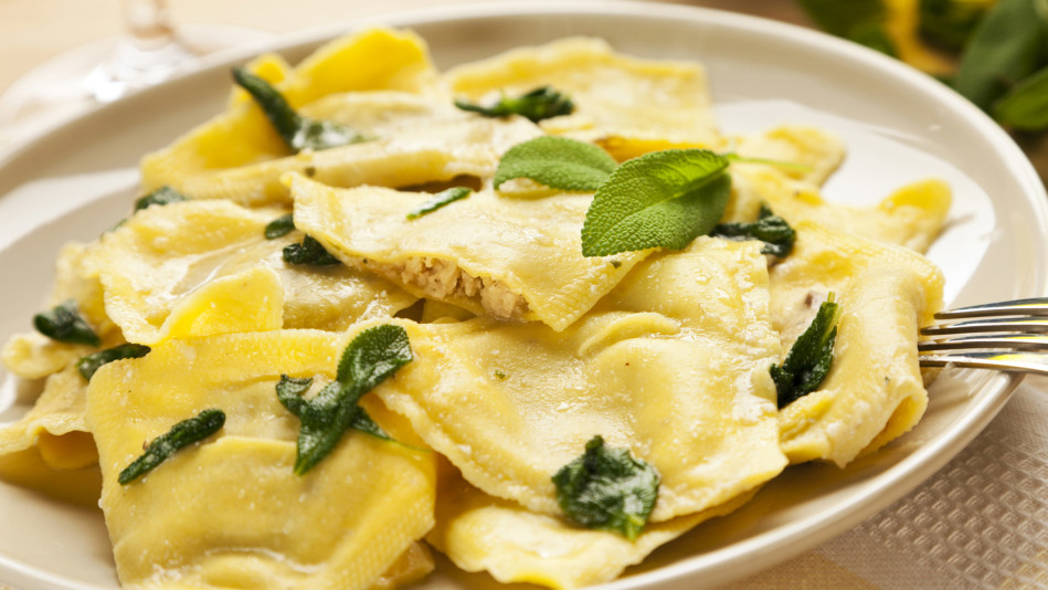 Pasta with Sage-Butter Sauce