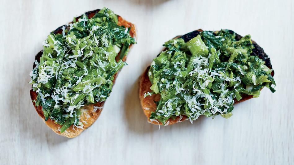 Broccoli-Rabe Bruschetta