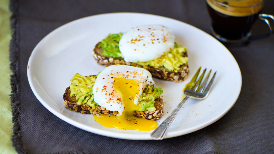 Avocado Toast with Poached Egg Recipe