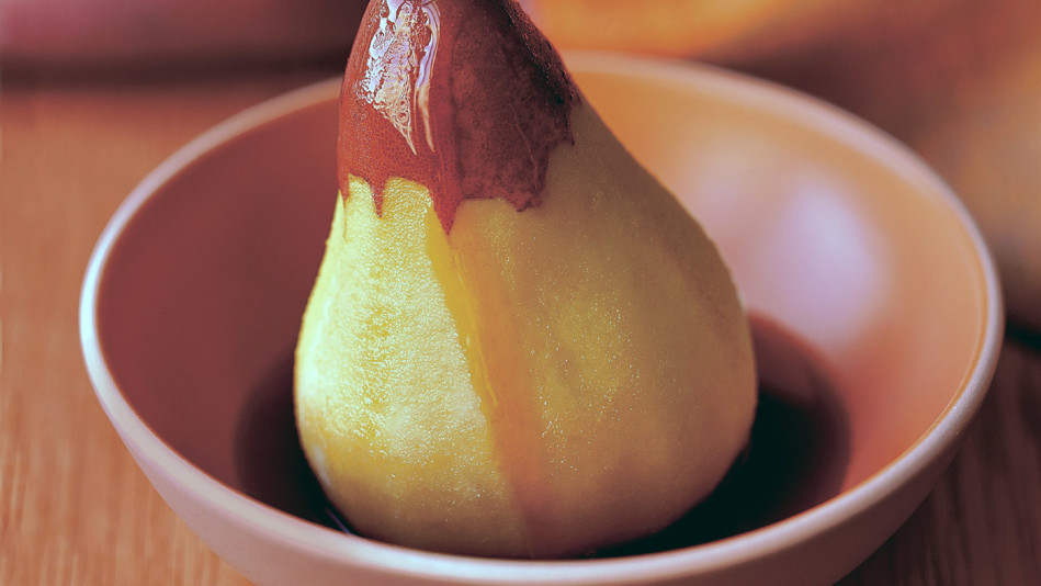 Steamed Pears