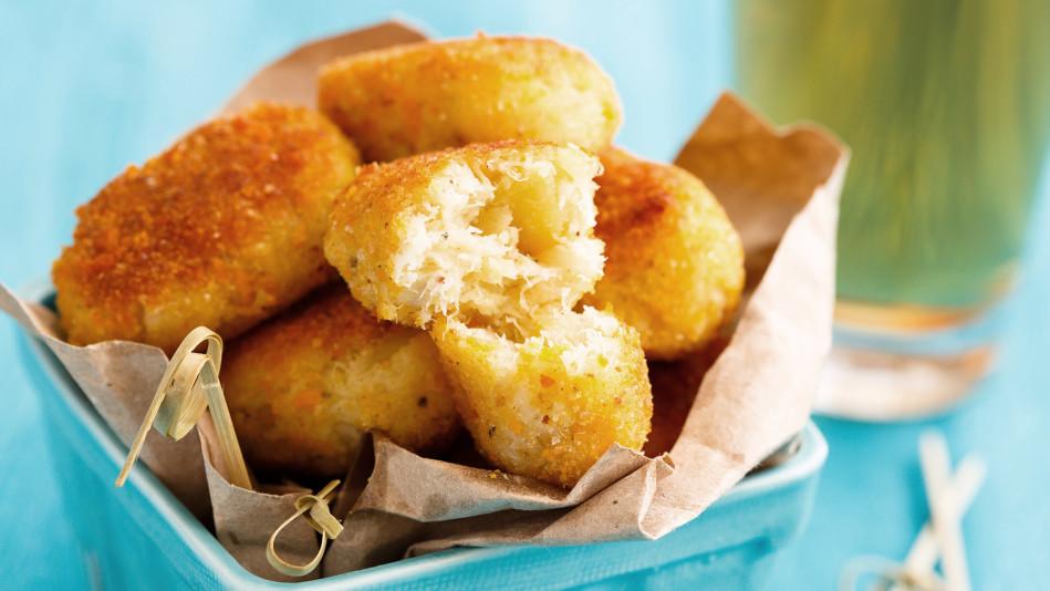Fried IPA Cheddar Mashed-Potato Balls