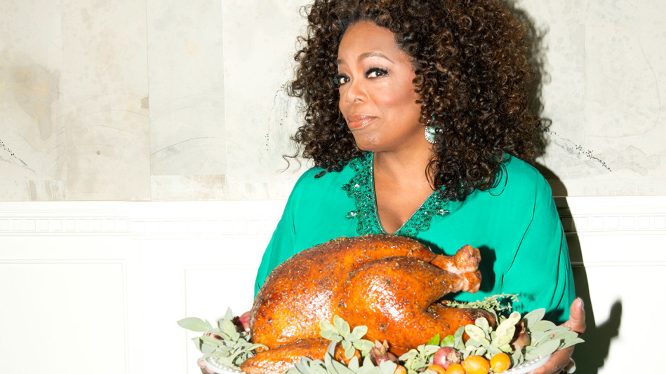 Here's What Oprah Is Cooking For Thanksgiving
