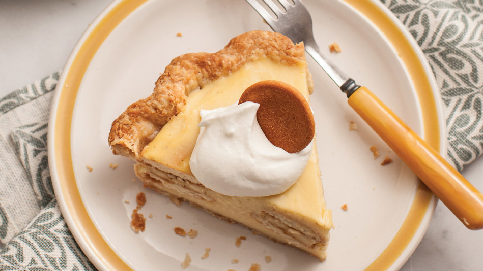 Banana-Nilla Pudding Pie