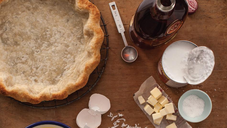 Coconut Rum Pie