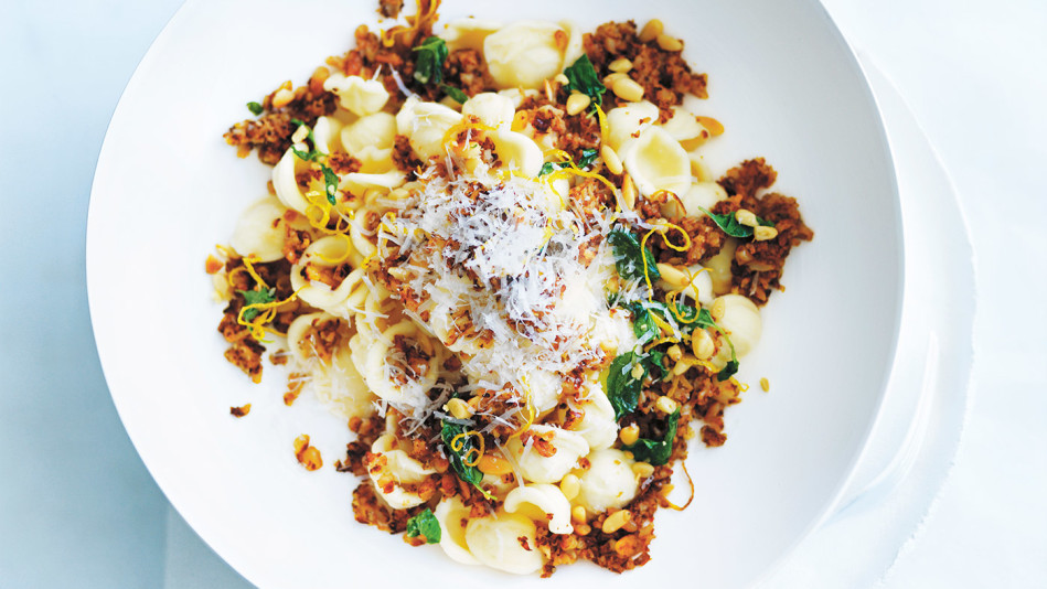 Crispy Cauliflower Pasta