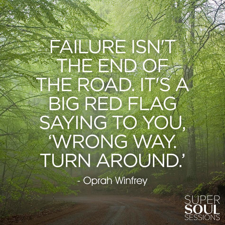 Oprah Winfrey New Year Quotes: Oprah Winfrey Failure