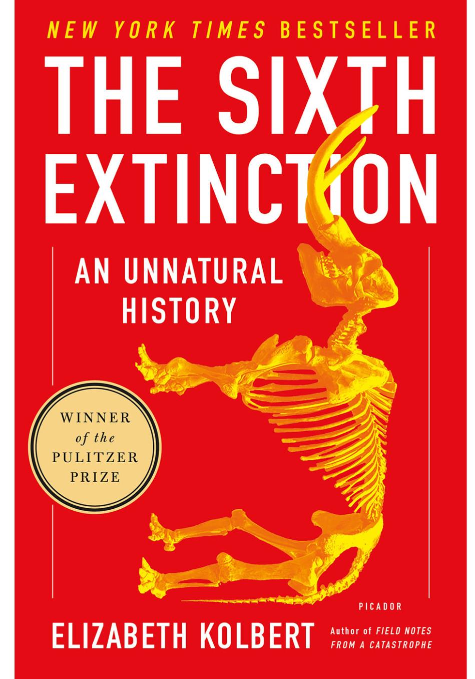 Award Winning Books 2015 The Sixth Extinction