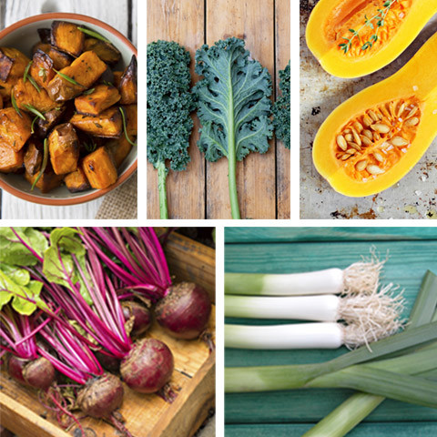 foods with vitamin a and c