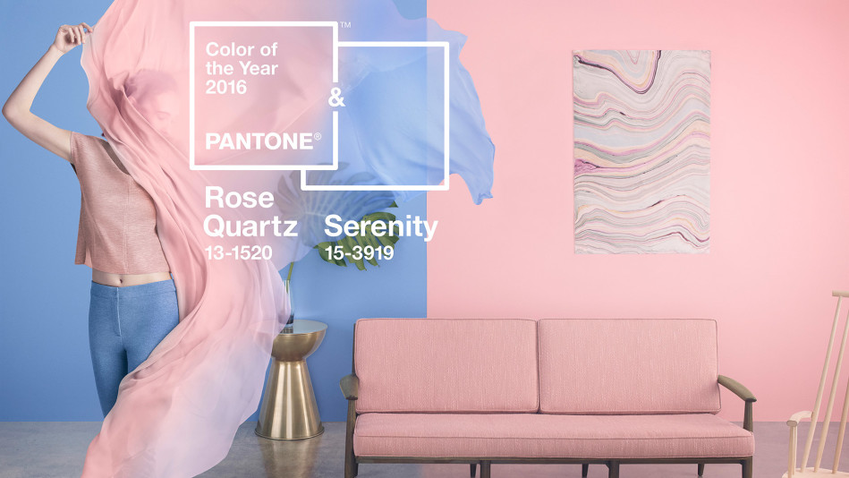 Pantone Color Of The Year Rose Quartz Serenity
