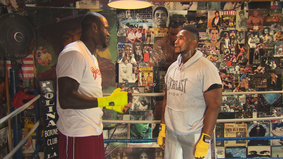 Tim Trains with Heavyweight Champion Deontay Wilder