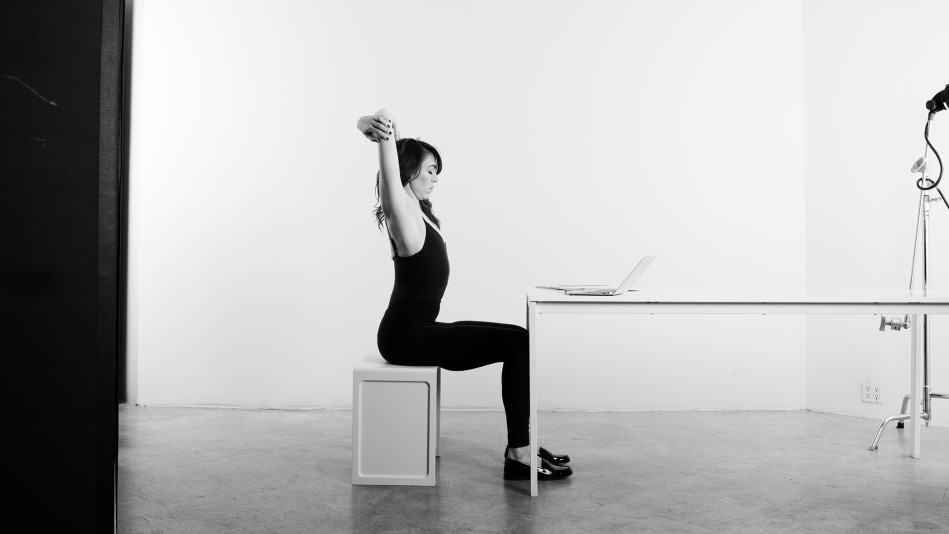 4 At-Your-Desk Stretches That Feel Amazing