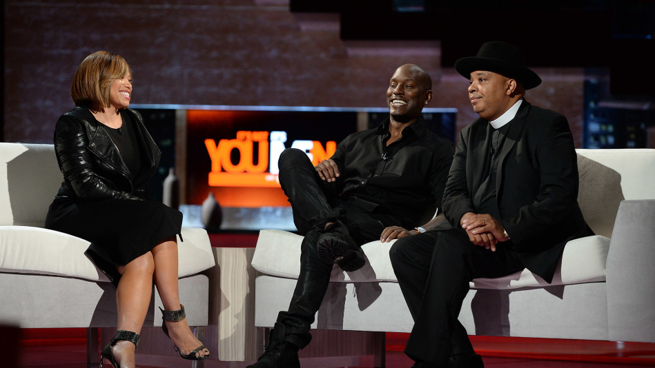 "Tyrese and Rev Run Talk ""Men-ogamy"""