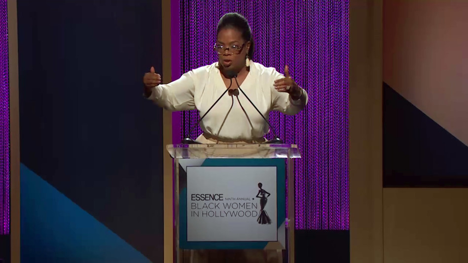 Oprah Delivers a Touching Speech at the 'Essence' Luncheon - Video
