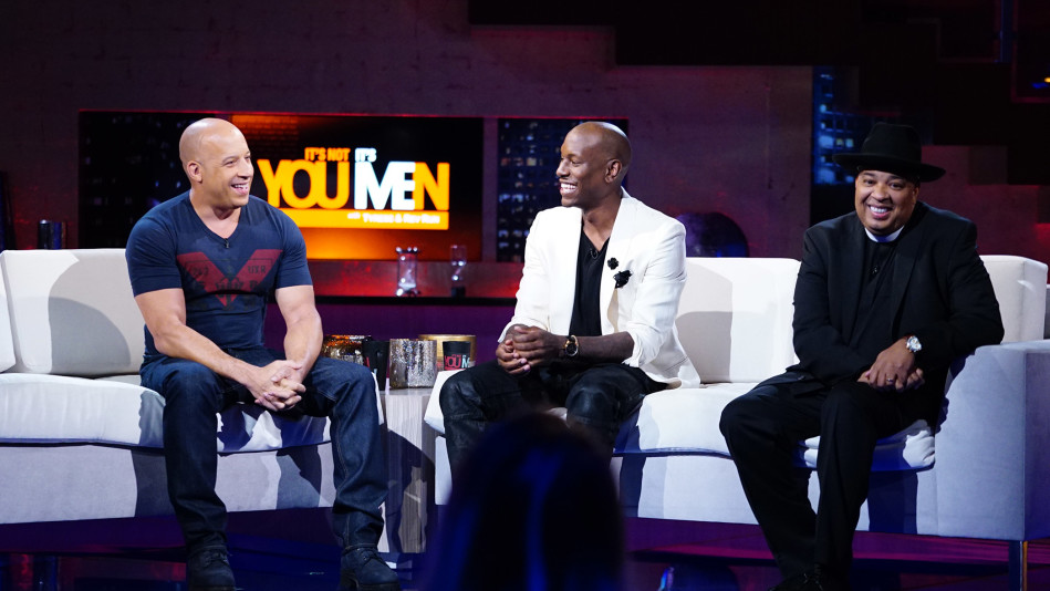 Superstar Vin Diesel Talks Fatherhood with Tyrese and Rev Run