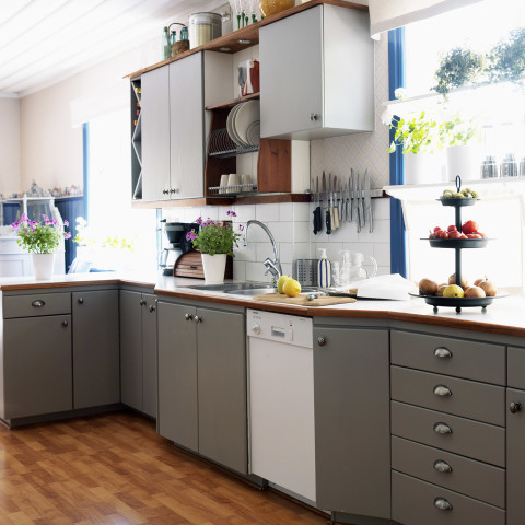 The New Paint Trend Two Tone Cabinets
