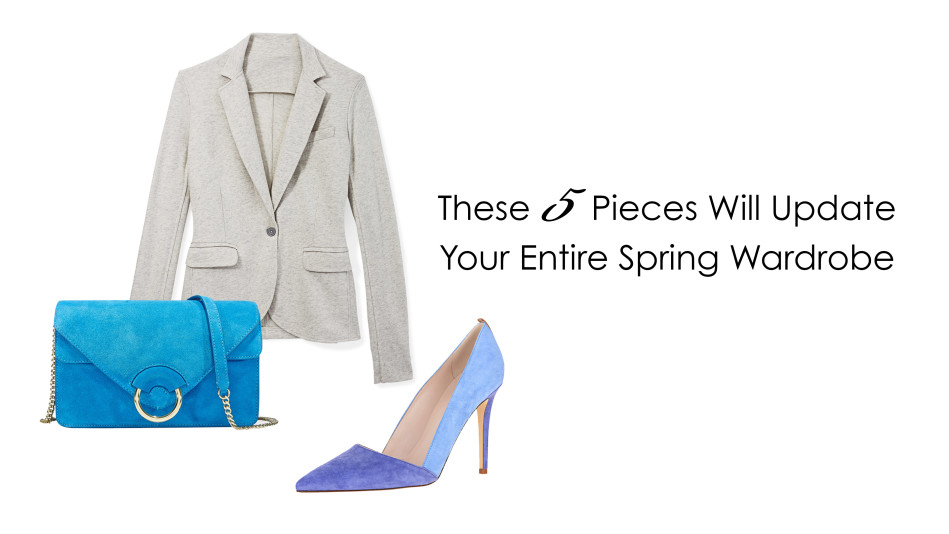 These 5 Pieces Will Update Your Entire Spring Wardrobe