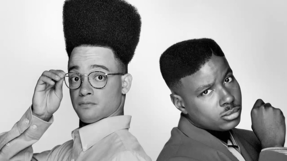 Kid N Play On House Party High Top Fades And Their
