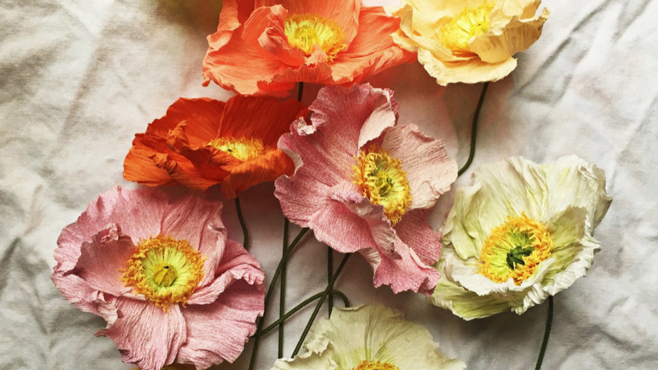 Italian crepe paper flowers by tiffanie turner beautiful flower creations mightylinksfo