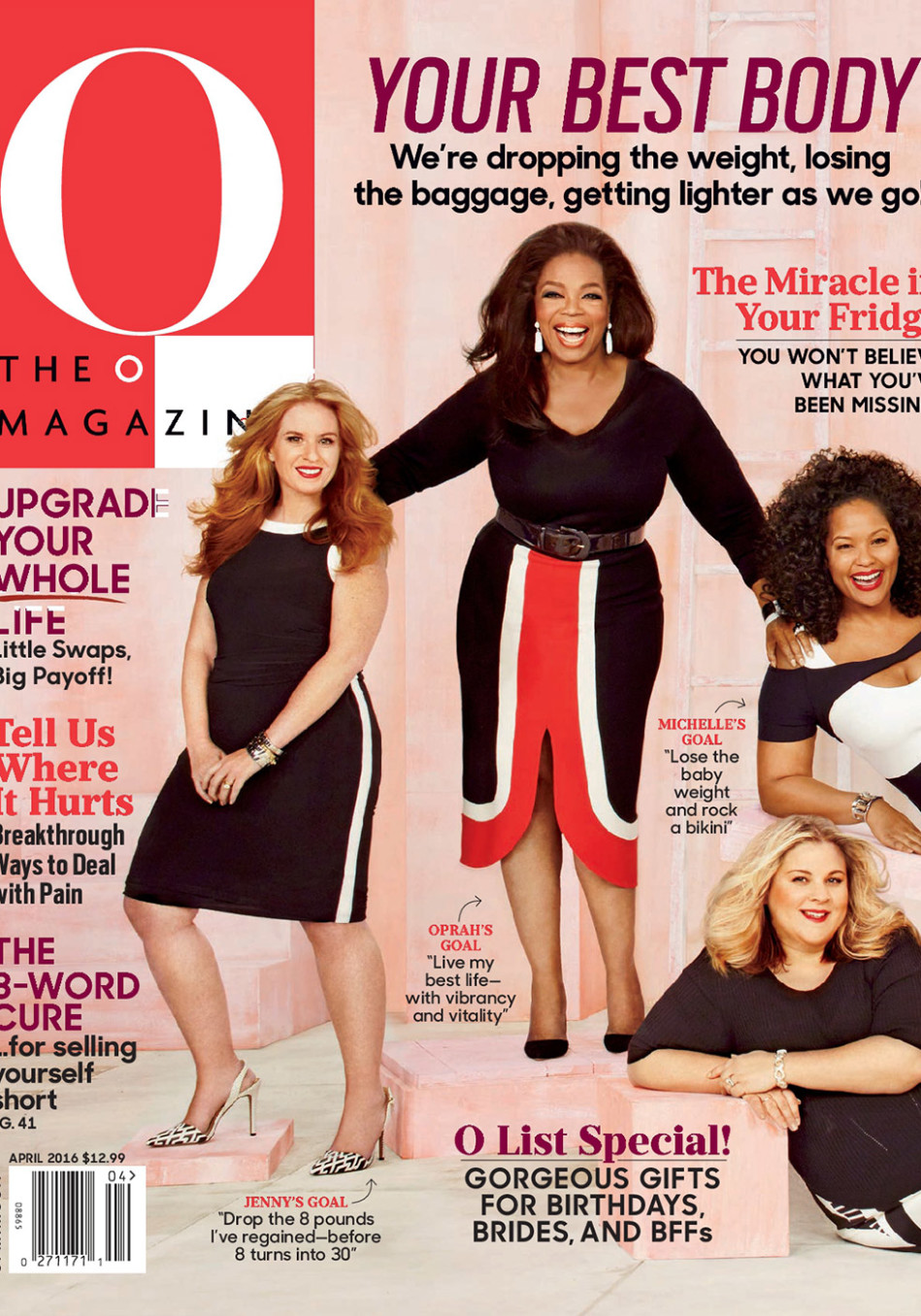 Behind the Scenes of Oprah's April 2016 Cover