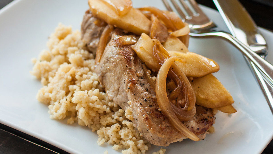 Pork couscous recipe