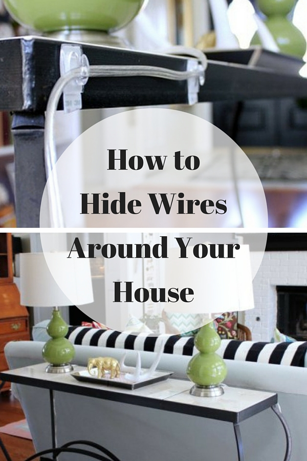How To Hide Wires : how to hide wires around the house ~ Hamham.info Haus und Dekorationen
