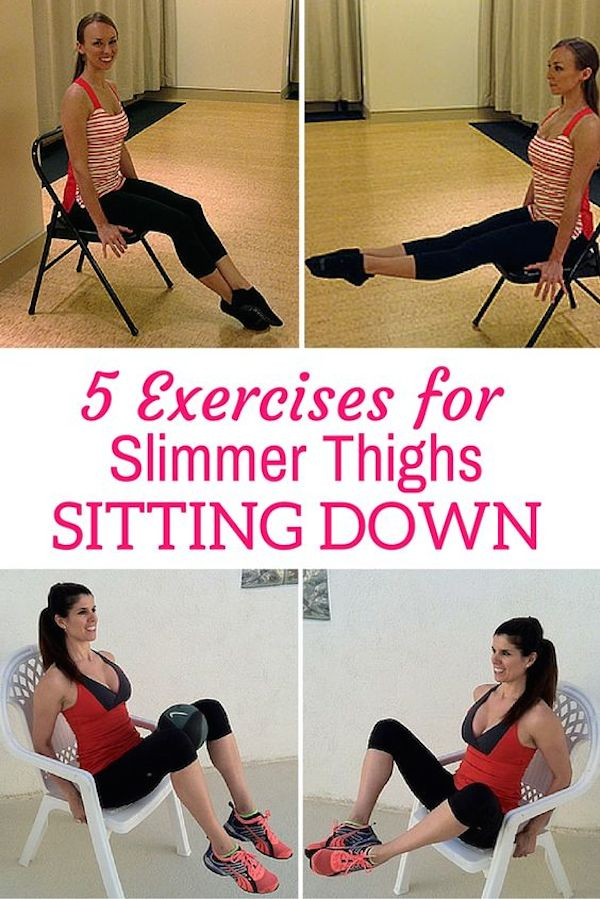 Thigh Exercises While Sitting Thigh Workout
