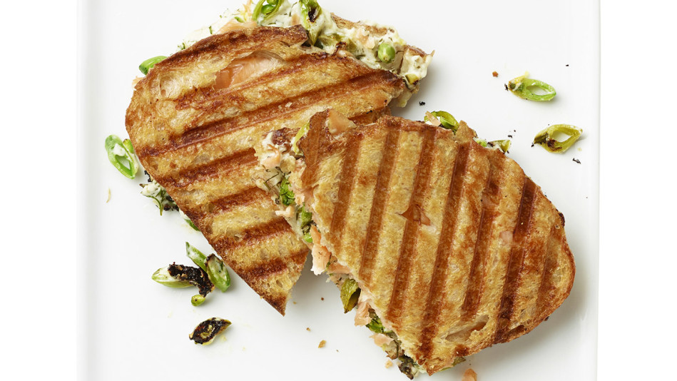 salmon panini
