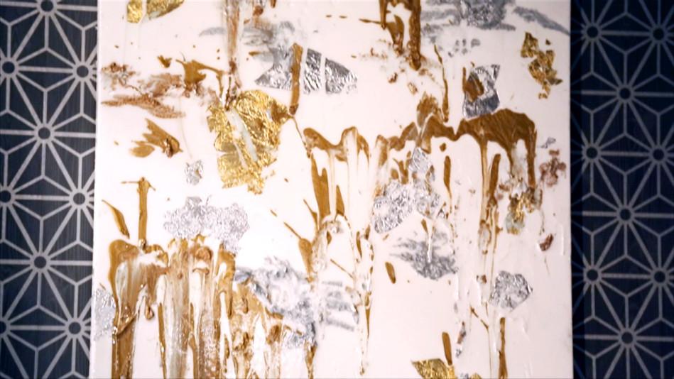 Make a Splash with Dazzling Precious Metals Art