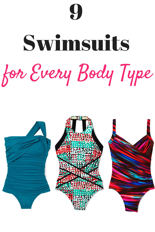 Most Flattering Swimsuits for Every Body Type