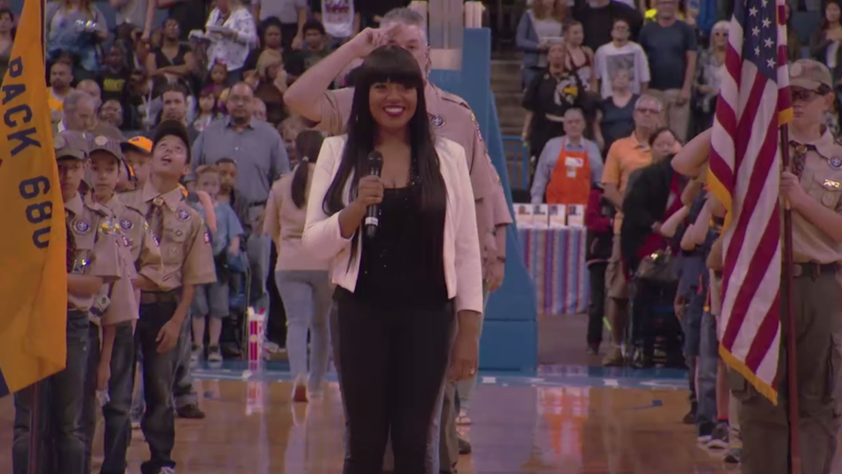 Shanice's Rendition of the National Anthem Will Give You Chills