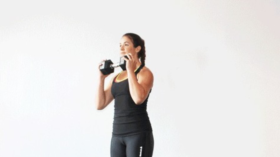 The Full-Body Workout You Can Do With One Dumbbell