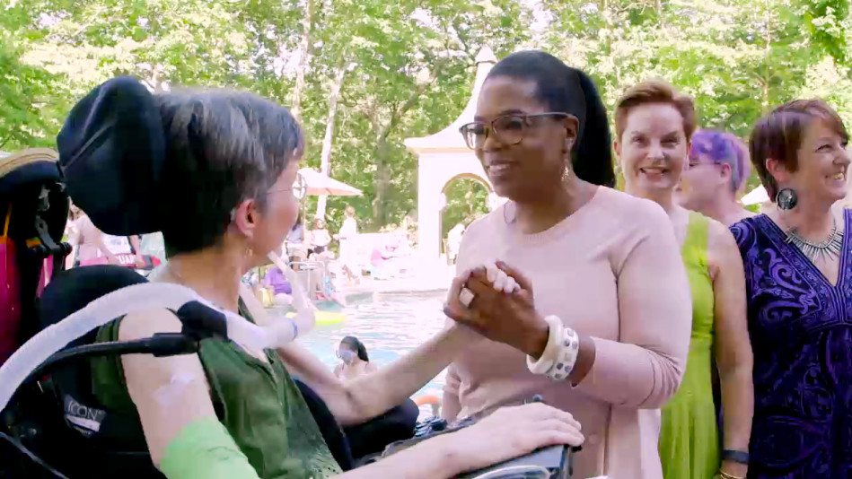 Oprah's Surprise Visit To Mattie Stepanek's Mother, Jeni