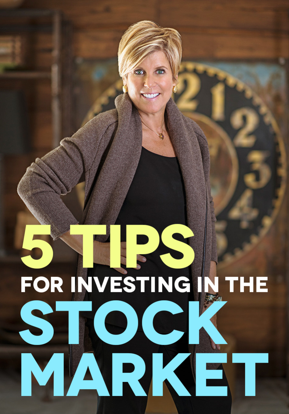 Suze Orman's 5 Tips for Investing in the Stock Market