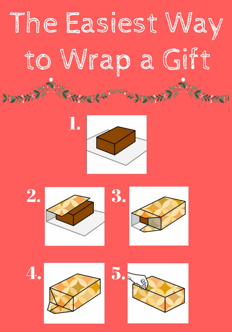 how to wrap gift
