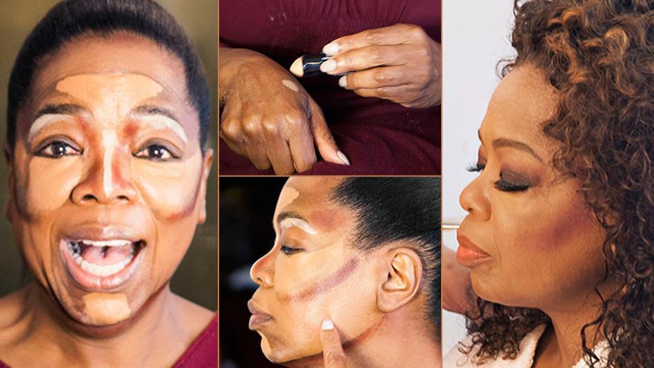 Oprah Contouring Makeup Technique
