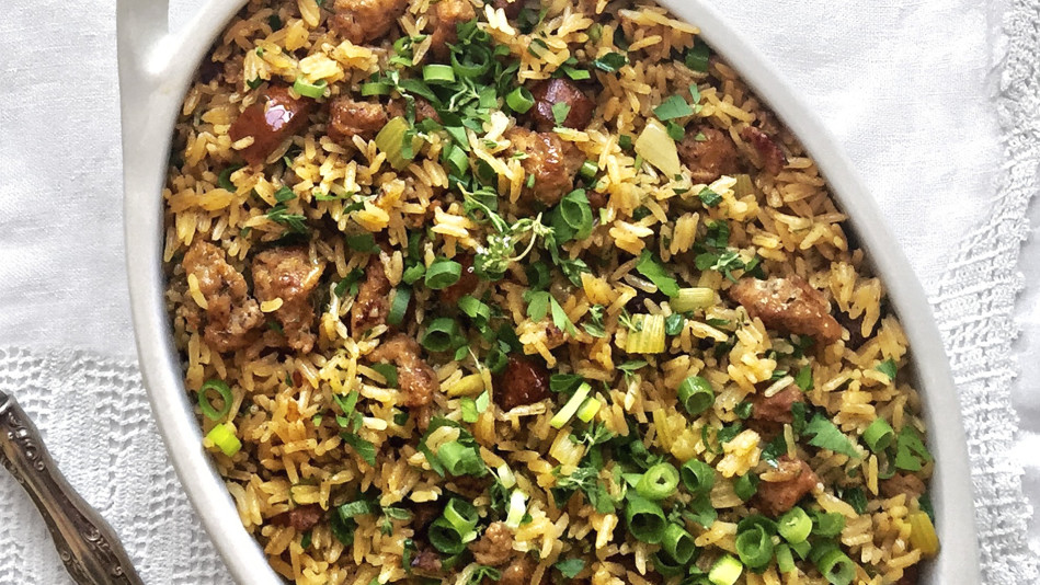 andouille rice dressing