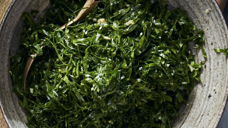 Garlicky Collard Greens Recipe - Lucinda Scala Quinn