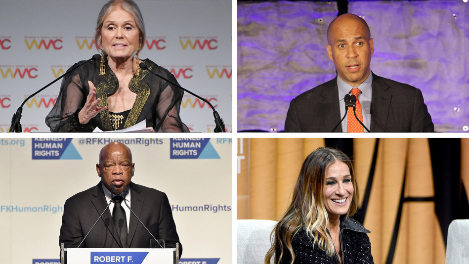 Celebrities on the privlege of voting