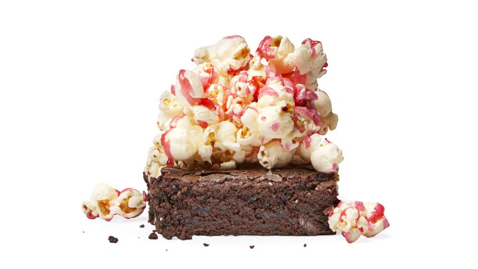 Peppermint Mocha Popcorn Brownies Recipe