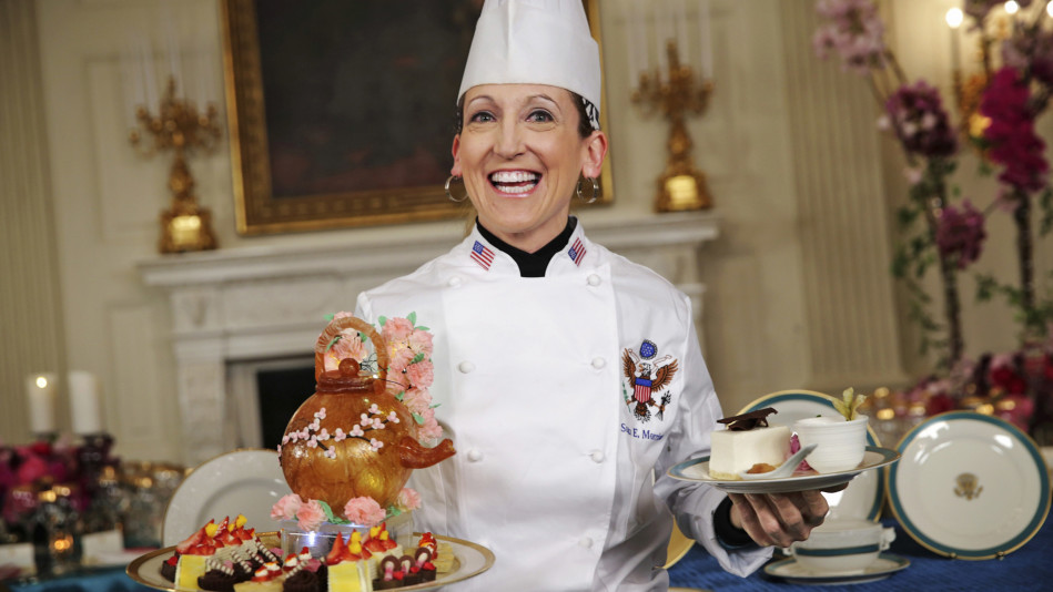 Susan Morrison white house pastry chef