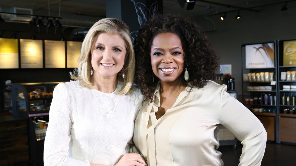 Oprah & Arianna Huffington: Her Big Wake-Up Call