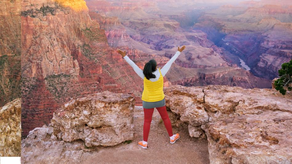 Oprah at the Grand Canyon